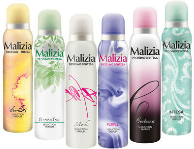 MALIZIA DONNA deodorant DREAM-SET deo-EdT 6x 150ml FEMME deo SET