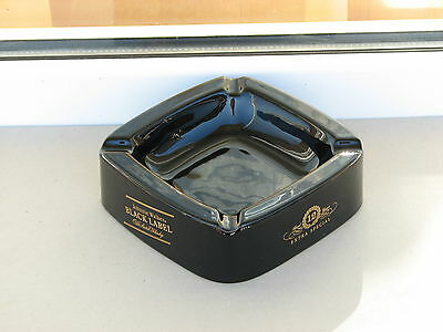 Johnnie Walker ashtray Black Label ceramic old scotch whisky extra special