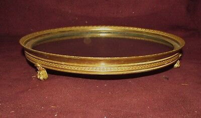 Antique French Gilt Bronze Dresser Tray or Plateau