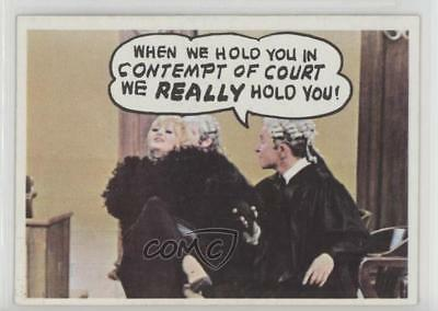1968 Topps Rowan & Martin's Laugh-In #5 When we hold you in contempt Card 0a3