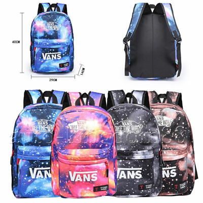 4633dc0dcc Galaxy For Boys Girls Canvas Laptop Book Bag Backpack Travel School  Shoulder Bag