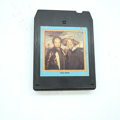 8 Track 8 - Spur Tonband Haggard/ Nelson inkl. DHL Paketversand