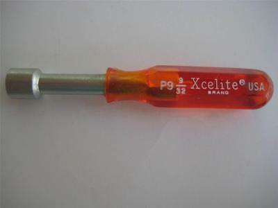 """XCELITE P9  9/32"""" Nut Driver Hollow Shaft (Carded)"""