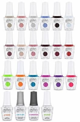 Harmony Gelish Soak-Off Gel - Pick Color/Top/Base/Bond/Oil 0.5oz/15mL - Series 8