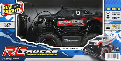 27d New Bright 1:24 Full-Function Radio-Controlled Ford Raptor