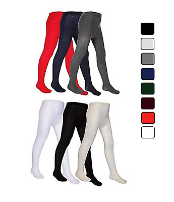 Everyday Childrens Tights Cotton Rich Nifty Back To School Thick Newborn To 13
