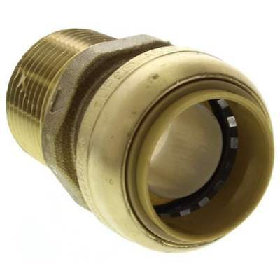 "SHARKBITE U140LF 1"" Push-To-Connect Male NPT Adapter. Bag of 6."