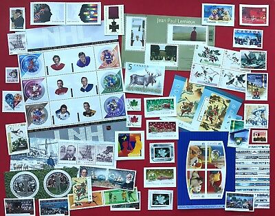 Canada 2004 Postage Stamps - Complete Year Annual Collection Stamp - Free Ship