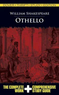 Othello Thrift Study by William Shakespeare 9780486475769 (Paperback, 2009)