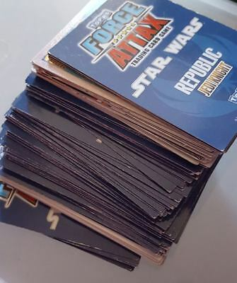 old used Star Wars Trading Cards mix lot-selling as is