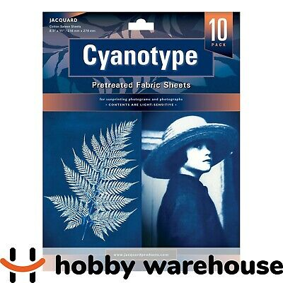Jacquard Cyanotype Sheets 10 Pack
