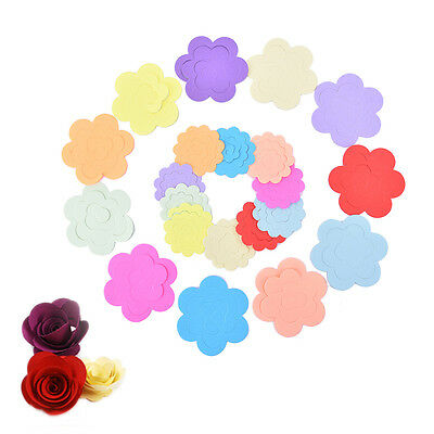 11 Colors Paper Quilling Flowers Rose Paper Handmade Material Accessories DIY WL
