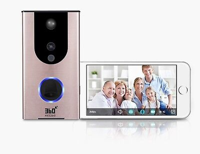 360 Smart Video Wireless WIFI Doorbell Remote Control Home Security Android iOS