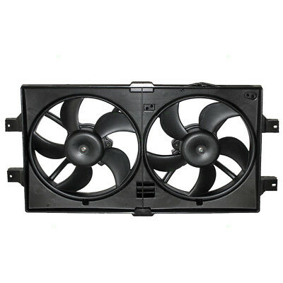 New Dual Radiator Cooling Fan Assembly Concorde 300M Vision Intrepid LHS