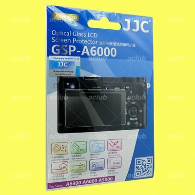 JJC GSP-A6000 0.3mm 9H Tempered Glass LCD Screen Protector SONY A6300 A6000