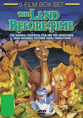 The Land Before Time 1 2 3 One Two Three (Pat Hingle) New Region 4 DVD Box Set