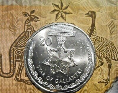 2017 20 Cent AUSTRALIAN STAR OF GALLANTRY MEDAL 100 Yrs of ANZAC