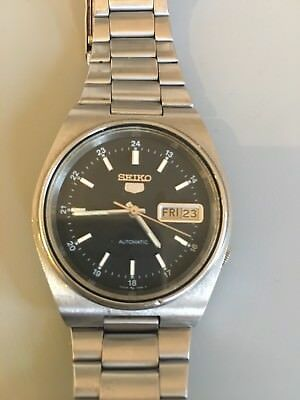 seiko automatic watch vintage 1970s