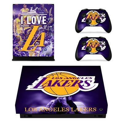United Xbox One X Lebron James Lakers Skin Sticker Console Decal Vinyl Xbox One Video Games & Consoles