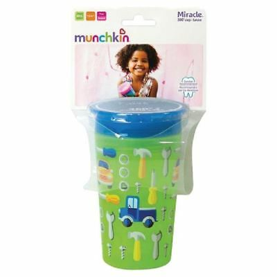 Munchkin Miracle 360 Sippy Cup Green Cars 266ml 1 2 3 6 12 Packs