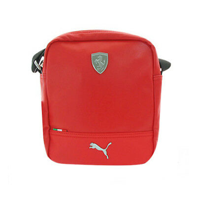 b28d1d16f8 Puma Ferrari LS Portable Shoulder Bag Unisex Red Synthetic 072243 02 CC14
