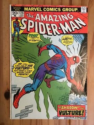 Amazing Spider-Man # 128 Marvel 1974 , The Vulture,Grade VG/FN