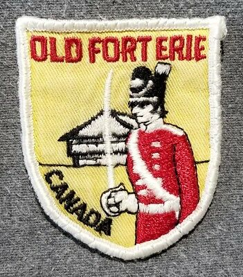 LMH PATCH Badge OLD FORT ERIE British Battlefield CANADA Canadian Niagara Park