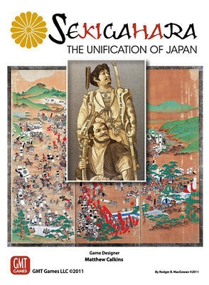 Sekigahara, The Unification of Japan, Wargame, New by GMT Games, English Edition