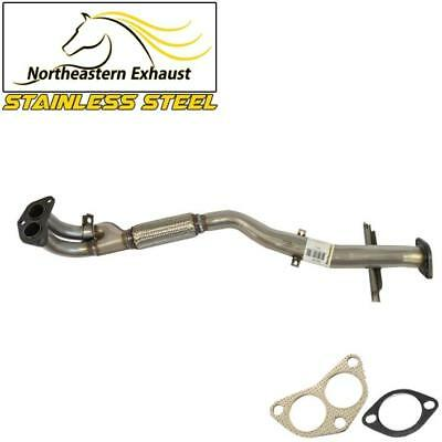 Stainless steel front flex Exhaust pipe Fits 03-06 Mitsubishi Outlander 2.4L AWD
