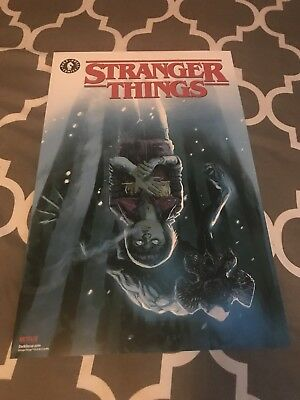SDCC COMIC-CON EXCLUSIVE STRANGER THINGS 11 x 17 POSTER