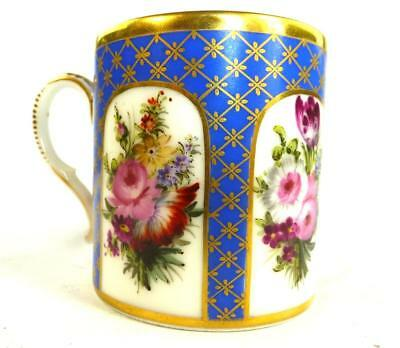 Early 19Th Century Antique French Nast Paris Porcelain Coffee Cup