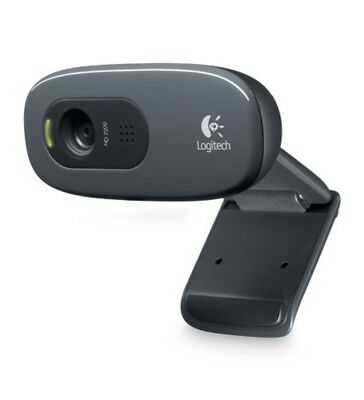 Logitech 960-000694 C270 Widescreen HD Webcam and 3 MP designed for HD Video Cal