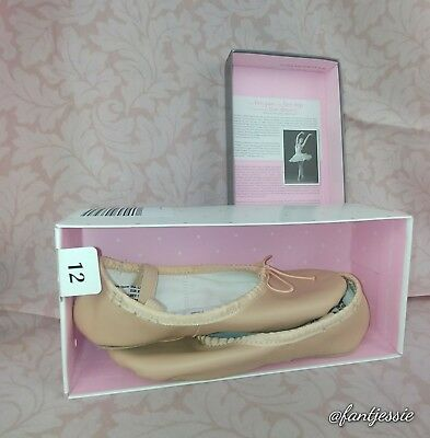 American Ballet Theatre pink ballet shoes Child Size 12 New In Box
