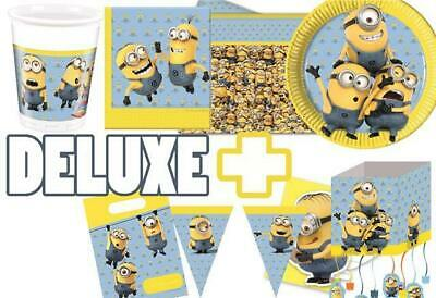 Minions Basic & Deluxe Party Pack for 8, 16 or 24