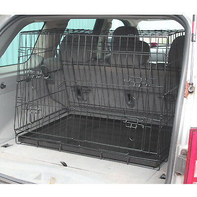 Me & My Pets Cage de Transport Chien Incliné & Pliante Voiture/Auto/Camionnette