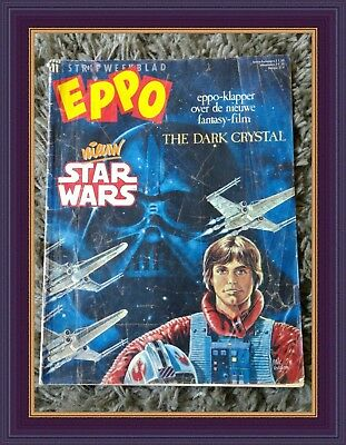 ➡ Rare Eppo Vintage Dutch Weekly Comic 1983 First Star Wars Story Edition