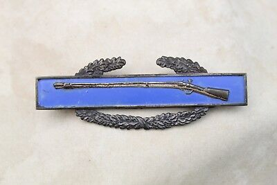 Original Us Wwii Sterling Silver Army Cib Combat Infantry Badge