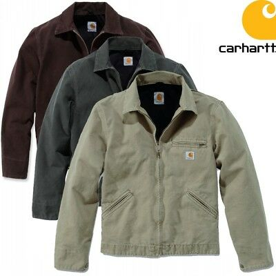Carhartt Men's Jacket Work Jacket Jacket Lightweight Detroit Workwear New