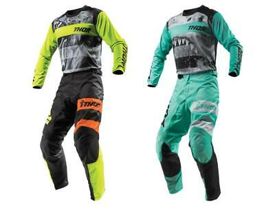 2019 Thor MX Pulse Savage Big Kat / Jaws Adult Pant Jersey Gear Combo - Dirt ATV