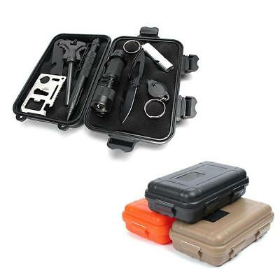 Outdoor Shockproof Waterproof Airtight Survival Tools Case Storage Box Container