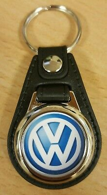 VW Logo Medallion Keyring, Brand New