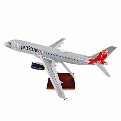 Skymarks Jetblue Airbus A320-2 Boston Red Sox Desk Display 1/100 Model Airplane