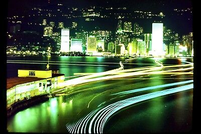 Star Ferry Hong Kong At Night.  Free P&P to UK (Ref A19)