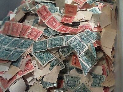 US stamps REVENUES stock transfer greens, red stock,docs over 500,000 stamps