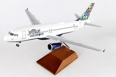 Skymarks SKR8365 Jetblue Airbus A320 Vacations Desk Display 1/100 Model Airplane