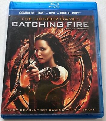 The Hunger Games Catching Fire (Bluray, 2014) Canadian