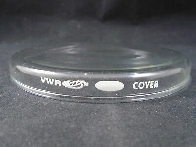 VWR Glass 100mm X 10mm Beaded Rim Petri Culture Dish Cover Only 89000-312