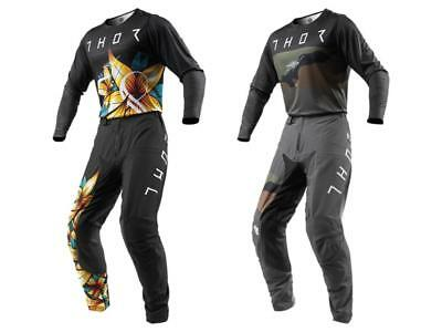 2019 Thor MX Prime Pro Floral / Fighter Adult Pant Jersey Gear Combo - Dirt ATV