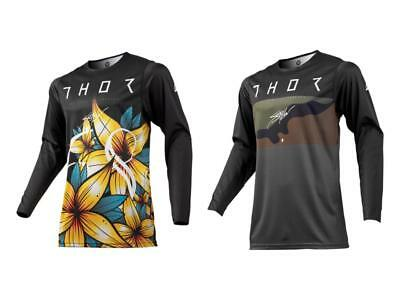 2019 Thor MX Prime Pro Floral / Fighter Adult Jersey - MX ATV Off Road Thor Gear