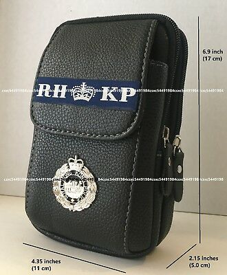 Waist Leather Pouch - Royal Hong Kong Police Utility Sport Waist Pouch #3